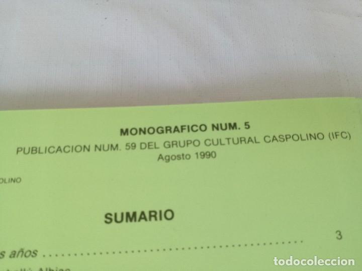 Libros de segunda mano: MONASTERIO NTRA SRA DE RUEDA-OCHO ARTICULOS PUBLICADOS CUADERNOS ESTUDIOS CASPOLINOS-ARAGON-ZARAGOZA - Foto 5 - 128159675