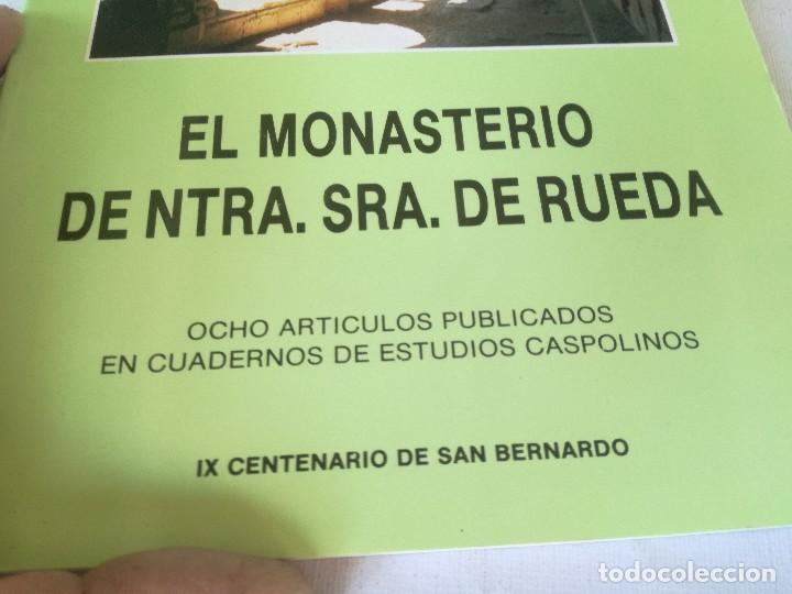 Libros de segunda mano: MONASTERIO NTRA SRA DE RUEDA-OCHO ARTICULOS PUBLICADOS CUADERNOS ESTUDIOS CASPOLINOS-ARAGON-ZARAGOZA - Foto 6 - 128159675