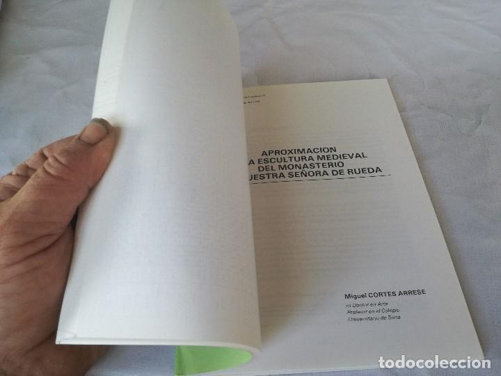 Libros de segunda mano: MONASTERIO NTRA SRA DE RUEDA-OCHO ARTICULOS PUBLICADOS CUADERNOS ESTUDIOS CASPOLINOS-ARAGON-ZARAGOZA - Foto 12 - 128159675