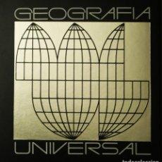 Libros de segunda mano: GEOGRAFÍA UNIVERSAL CARROGGIO (6 TOMOS, COMPLETA), 1979. Lote 128738571