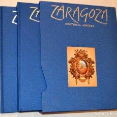 Libros de segunda mano: ZARAGOZA - PROVINCIA ABIERTA - 2 TOMOS - EN ESTUCHE. Lote 129016359