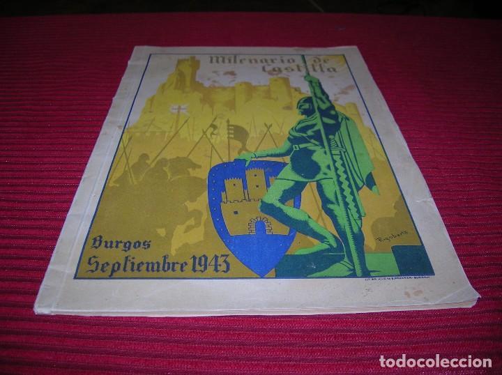 REVISTA. MILENARIO DE CASTILLA.BURGOS SEPTIEMBRE 1943 (Libros de Segunda Mano - Geografía y Viajes)