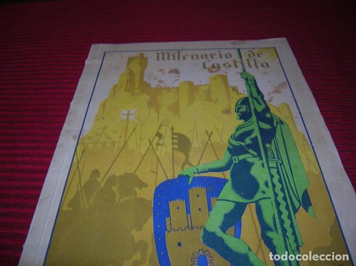 Libros de segunda mano: Revista. Milenario de Castilla.Burgos Septiembre 1943 - Foto 2 - 129449751