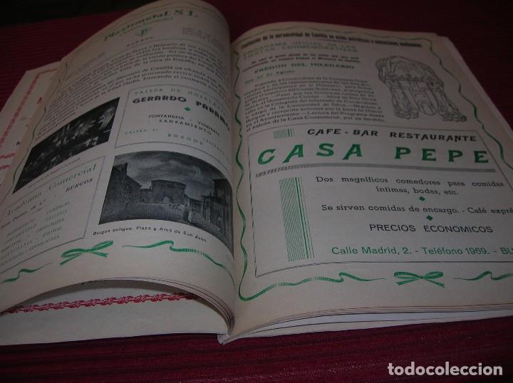 Libros de segunda mano: Revista. Milenario de Castilla.Burgos Septiembre 1943 - Foto 4 - 129449751