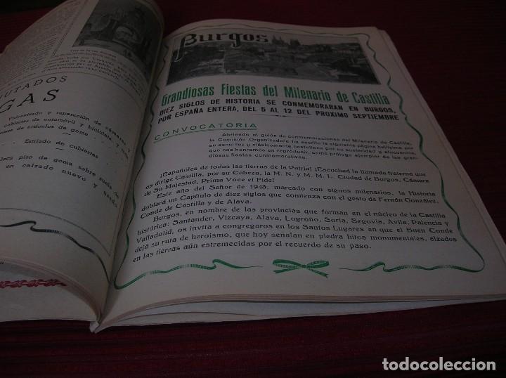 Libros de segunda mano: Revista. Milenario de Castilla.Burgos Septiembre 1943 - Foto 5 - 129449751