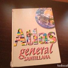 Libros de segunda mano: ATLAS GENERAL SANTILLANA. Lote 129680435