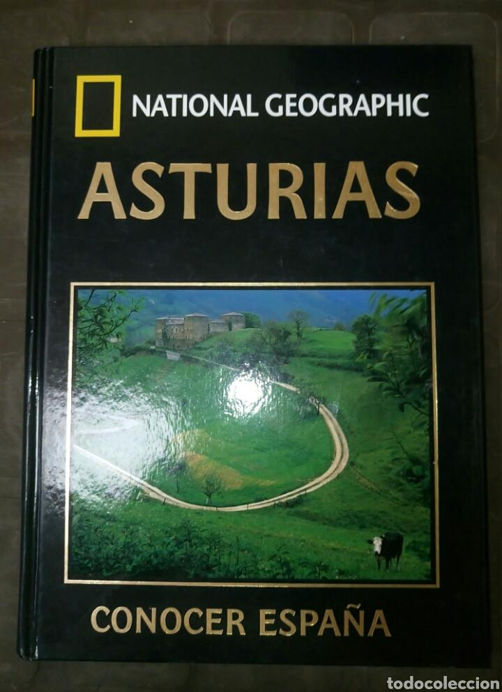 ASTURIAS CONOCER ESPAÑA NATIONAL GEOGRAPHIC 2006 CLUB INTERNACIONAL DEL LIBRO (Libros de Segunda Mano - Geografía y Viajes)
