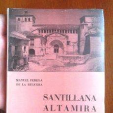 Libros de segunda mano: SANTILLANA ALTAMIRA GUÍA EDICIÓN ESPAÑOLA 1970 IMPECABLE MANUEL PEREDA DE LA REGUERA, SANTANDER. Lote 130722454