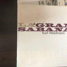 Libros de segunda mano: LA GRAN SÁBANA. KARL WEIDMANN. Lote 131087289