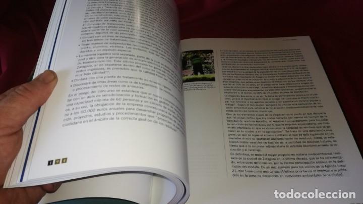 Libros de segunda mano: ZARAGOZA CIUDAD SOSTENIBLE-ESTADO DE LA CUESTION - Foto 11 - 131723358