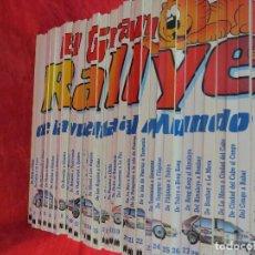 Libros de segunda mano: EL GRAN RALLYE DE LA VUELTA AL MUNDO - 35 LIBROS - MULTILIBRO - 1988. Lote 132193678