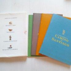 Libros de segunda mano: CAMINOS ABIERTOS CAMINO SANTIAGO HISTORIA ARTE NATURALEZA RUTAS BURGOS. Lote 132317499