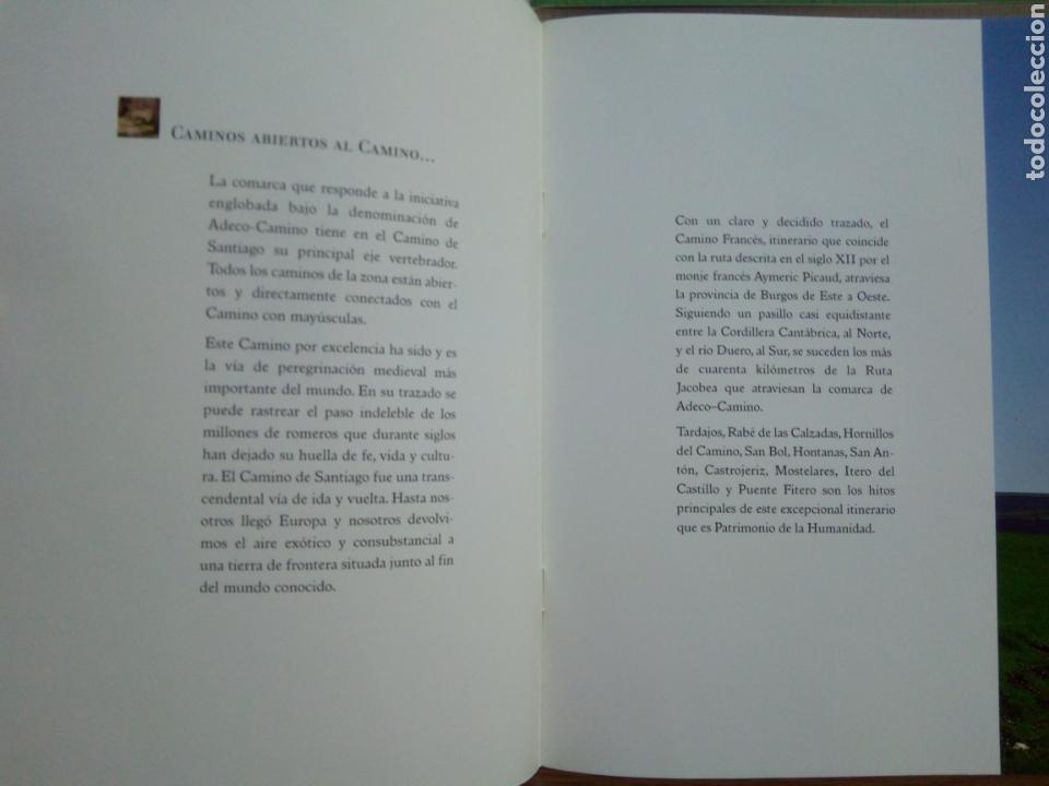 Libros de segunda mano: CAMINOS ABIERTOS CAMINO SANTIAGO HISTORIA ARTE NATURALEZA RUTAS BURGOS - Foto 3 - 132317499
