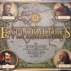 Libros de segunda mano: EXPLORADORES Y SUS DESCUBRIMIENTOS¡. LAS EXPEDICIONES MÁS FAMOSAS DEL MUNDO.. Lote 132751310