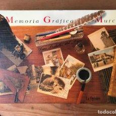 Libros de segunda mano: MEMORIA GRÁFICA DE MURCIA. LAS POSTALES DEL AYER. LA OPINIÓN. Lote 132852642