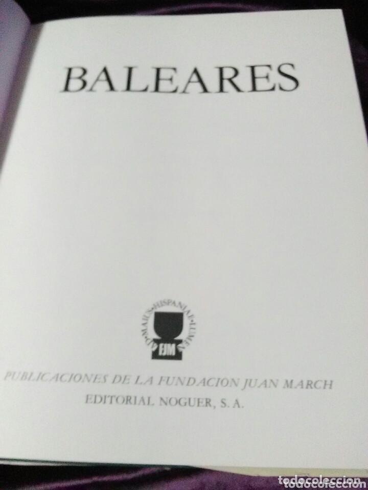 Libros de segunda mano: Baleares. Colección Tierras de España. Varios Autores. Noguer. 1974. - Foto 2 - 132946438