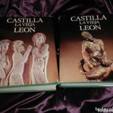 Libros de segunda mano: CASTILLA LA VIEJA LEÓN. (2 TOMOS). COLECCIÓN TIERRAS DE ESPAÑA. VARIOS AUTORES. NOGUER. 1975.. Lote 132950442