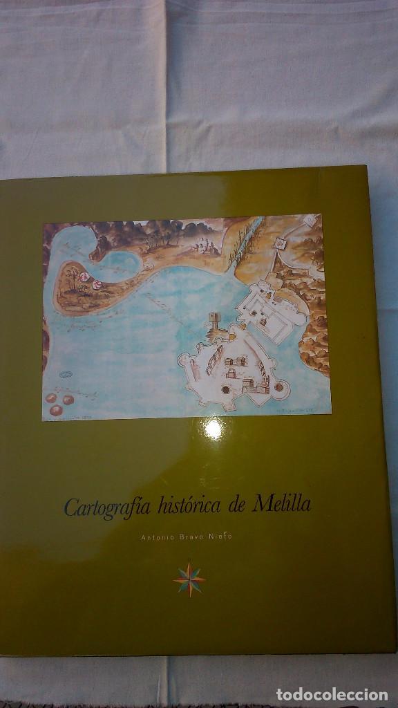 CARTOGRAFÍA HISTÓRICA DE MELILLA. (Libros de Segunda Mano - Geografía y Viajes)