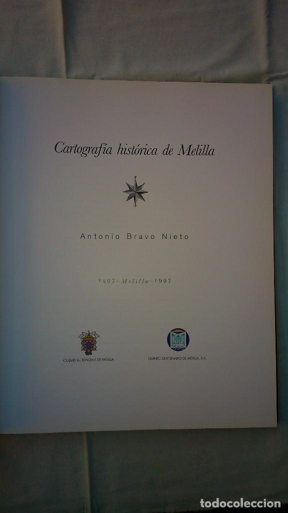 Libros de segunda mano: Cartografía histórica de Melilla. - Foto 2 - 133375690