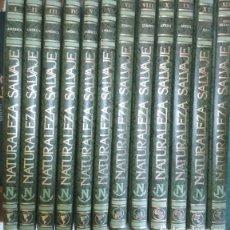 Libros de segunda mano: ENCICLOPEDIA DE 12 TOMOS, NATURALEZA SALVAJE, EDICIONES NAUTA 1991, LIBROS. Lote 133425794