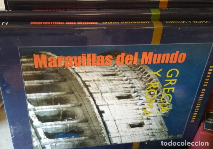 Libros de segunda mano: ENCICLOPEDIA DE 10 TOMOS, MARAVILLAS DEL MUNDO CULTURAL 2005, LIBROS - Foto 2 - 133426254