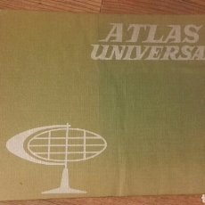 Libros de segunda mano: ATLAS UNIVERSAL. ATLAS ESCOLAR EDELVIVES. Lote 133555701