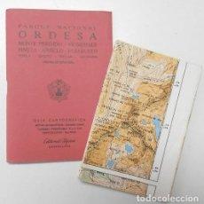 Libros de segunda mano: ORDESA. GUÍA CARTOGRÁFICA (EDITORIAL ALPINA, 1988). Lote 133924794