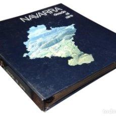 Libros de segunda mano: NAVARRA DESDE EL AIRE / JESÚS ELÓSEGUI ALDASORO, ETC. PAMPLONA : CAJA DE AHORROS DE NAVARRA, 1988.. Lote 134236598