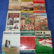 Libros de segunda mano: LOS VASCOS - MITOS - BRUJERÍA - MÚSICA - COLECCIÓN ASKATASUN HAIZEA - JULIO CARO BAROJA. Lote 134244294