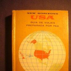 Libros de segunda mano: NEW HORIZONS USA. GUIA DE VIAJES PREPARADA POR PAA (PAN AMERICAN AIRWAYS: 1960). Lote 134309870