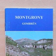 Libros de segunda mano: RAMON VINYETA - MONTGRONY. GOMBRÈN. Lote 135116246