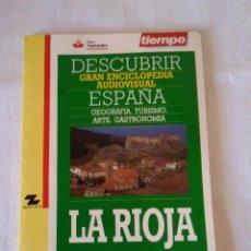 Libros de segunda mano: 222-REVISTA TIEMPO DESCUBRIR ESPAÑA LA RIOJA. Lote 135322010