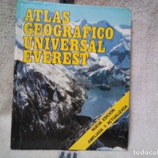 Libros de segunda mano: ATLAS GEOGRAFICO UNIVERSAL EVEREST. Lote 135653695