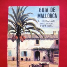 Libros de segunda mano: GUÍA DE MALLORCA AÑO 1977 EN ESPAÑOL. Lote 135696163