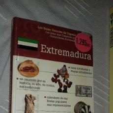 Libros de segunda mano: EXTREMADURA. LAS GUÍAS VISUALES DE ESPAÑA. 2000. Lote 135786766