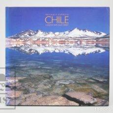 Libros de segunda mano: LIBRO EN ESPAÑOL / INGLÉS - CHILE. PAISAJE Y ESPÍRITU. ANTONIO VIZCAÍNO - ARAUCO - FOTOGRAFÍA. Lote 136035998