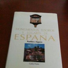 Libros de segunda mano: MONUMENTOS, TESOROS Y LUGARES DE ESPAÑA - TOMO 10 - PUEBLOS Y LUGARES - ESPASA 1998. Lote 136047110