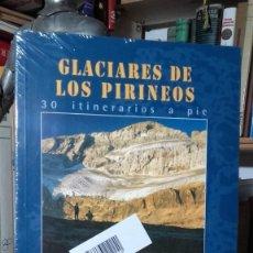 Libros de segunda mano: GLACIARES DE LOS PIRINEOS. 30 ITINERARIOS A PIE. 8 MAPAS CON RECORRIDOS, (PRAMES).. Lote 136750558