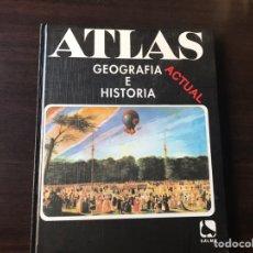 Libros de segunda mano: ATLAS ACTUAL. GEOGRAFÍA HISTORIA. SALMA. Lote 137100381