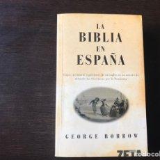 Libros de segunda mano: LA BIBLIA EN ESPAÑA. GEORGE BORROW. ZETA. Lote 137100457
