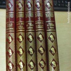 Libros de segunda mano: COLECCIÓN MADRID ESPASA - CALPE. OBRA COMPLETA VV.AA. 5 TOMOS ESPASA-CALPE 1982. Lote 137104046