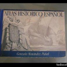 Libros de segunda mano - Atlas historico español. Gonzalo Menéndez Pidal - 137766410