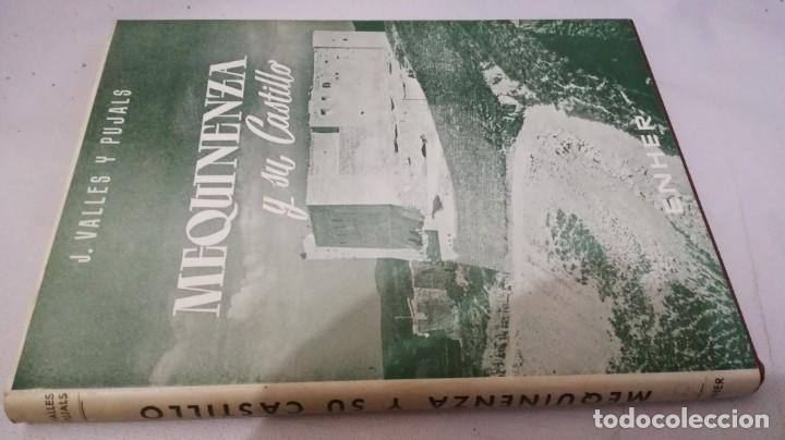 MEQUINENZA Y SU CASTILLO-J VALLES Y PUJALS / ENHER 1959-TAPAS DURAS +CUBIERTA (Libros de Segunda Mano - Geografía y Viajes)
