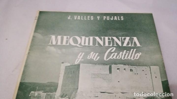 Libros de segunda mano: MEQUINENZA Y SU CASTILLO-J VALLES Y PUJALS / ENHER 1959-TAPAS DURAS +CUBIERTA - Foto 3 - 138516434