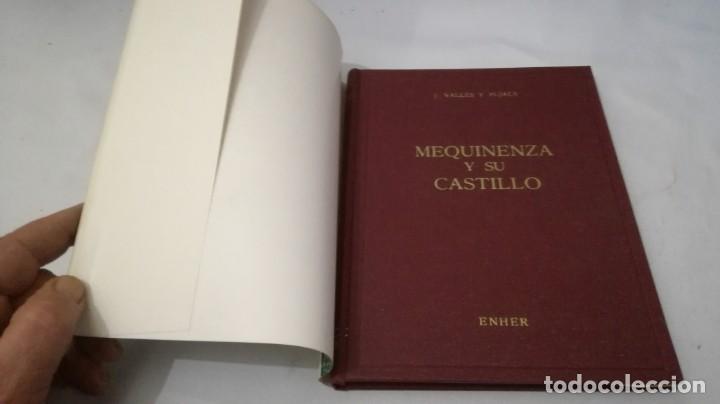 Libros de segunda mano: MEQUINENZA Y SU CASTILLO-J VALLES Y PUJALS / ENHER 1959-TAPAS DURAS +CUBIERTA - Foto 4 - 138516434