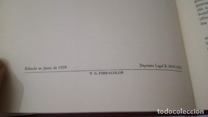 Libros de segunda mano: MEQUINENZA Y SU CASTILLO-J VALLES Y PUJALS / ENHER 1959-TAPAS DURAS +CUBIERTA - Foto 6 - 138516434