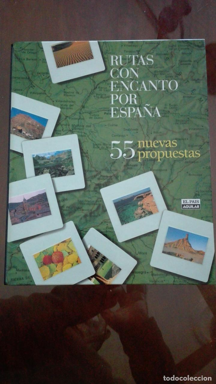 RUTAS CON ENCANTO POR ESPAÑA.- FICHAS (Libros de Segunda Mano - Geografía y Viajes)