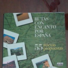 Libros de segunda mano: RUTAS CON ENCANTO POR ESPAÑA.- FICHAS. Lote 138667606