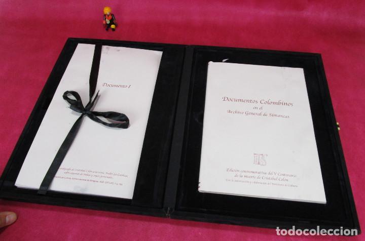 Libros de segunda mano: DE MUSEO! DOCUMENTOS COLOMBINOS EN EL ARCHIVO GENERAL DE SIMANCAS V CENTENARIO CRISTOBAL COLON - Foto 2 - 138683706