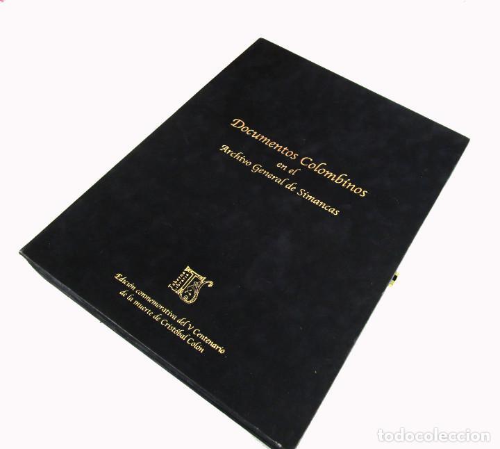 Libros de segunda mano: DE MUSEO! DOCUMENTOS COLOMBINOS EN EL ARCHIVO GENERAL DE SIMANCAS V CENTENARIO CRISTOBAL COLON - Foto 4 - 138683706